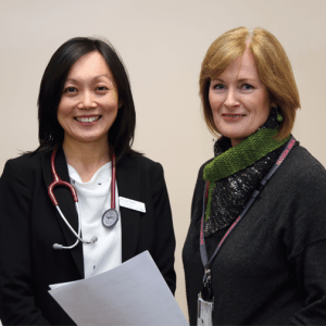 Jun Yang and Elise Forbes - endocrine hypertension clinic