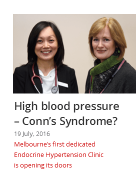 High Blood pressure & Conn's syndrome