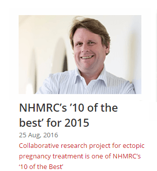 NHMRC 10 of the best