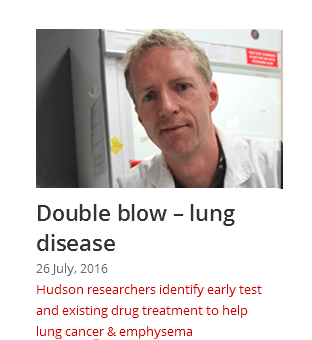 Double blow - lung diseasee