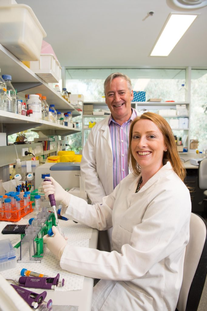 Dr Niamh Mangan and Professor Paul Hertzog