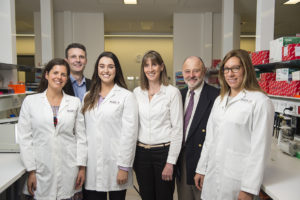 Team of scientists at Hudson Institute researching cerebral palsy.
