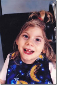 Kahli Sargent was starved of vital oxygen at birth, resulting in massive brain damage and cerebral palsy.
