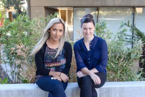 Early career reseachers Aya Mousa and Dr Stacey Ellery win MHTP Research Week ECR speed networking event.