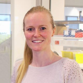 Dr Fiona Cousins from the Endometrial Stem Cell Biology Research Group at Hudson Institute