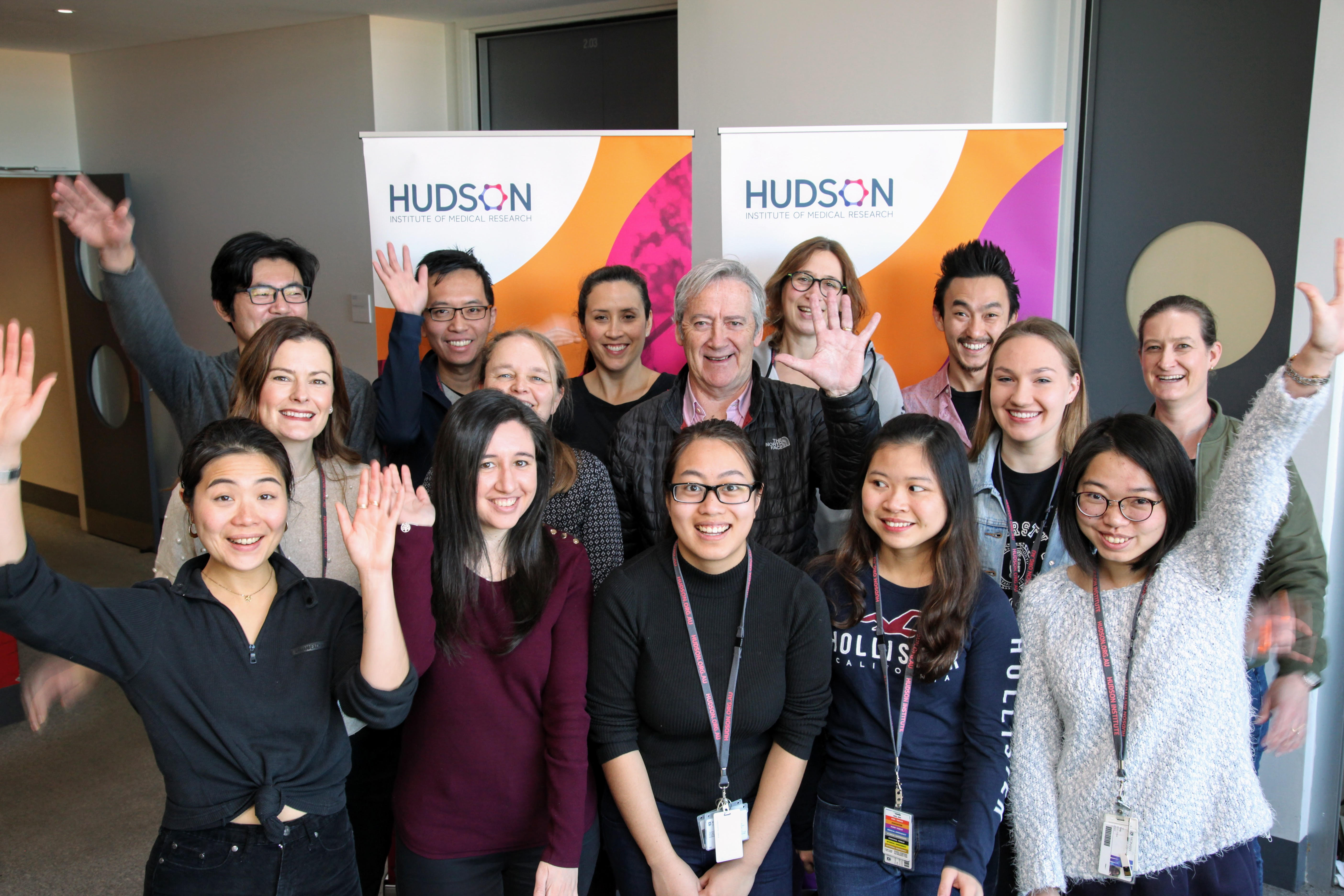 Photo of Husdson Institute CiiiD team.