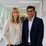 Professor Suzie Miller and Dr Atul Malhotra from the Neurodevelopment and Neuroprotection Research Group at Hudson Institute