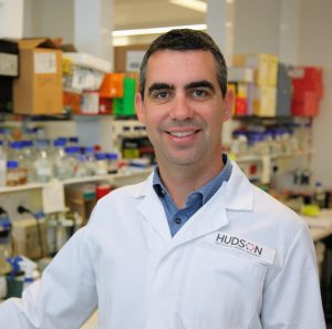 Dr Jason Cain from the Developmental and Cancer Biology Research Group at Hudson Institute