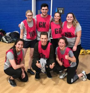 'HISS and Her's' netball team