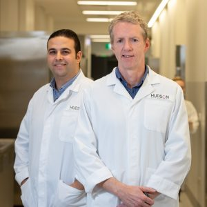 Professor Brendan Jenkins and Dr Mohamed Saad test new treatments for COPD, emphysema and lung cancer.
