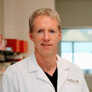 Professor Brendan Jenkins from the Cancer and Immune Signalling Research Group at Hudson Institute