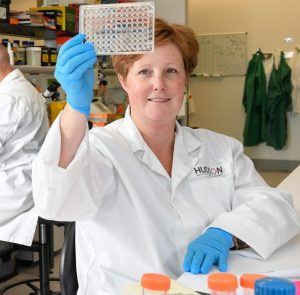 Associate Professor Michelle Tate prepares for new treatments for the next pandemic.