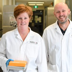 Inflammation scientists Associate Professor Michelle Tate and Associate Professor Ashley Mansell
