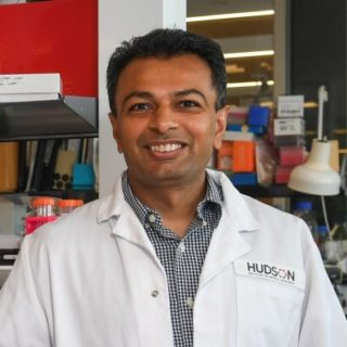 Dr Vijesh Vaghjiani, Postdoctoral Scientist in the Developmental and Cancer Biology Research Group at Hudson Institute of Medical Research