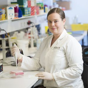 Dr Joanne Lundy from the Cancer and Immune Signalling Research Group at Hudson Institute of Medical Research